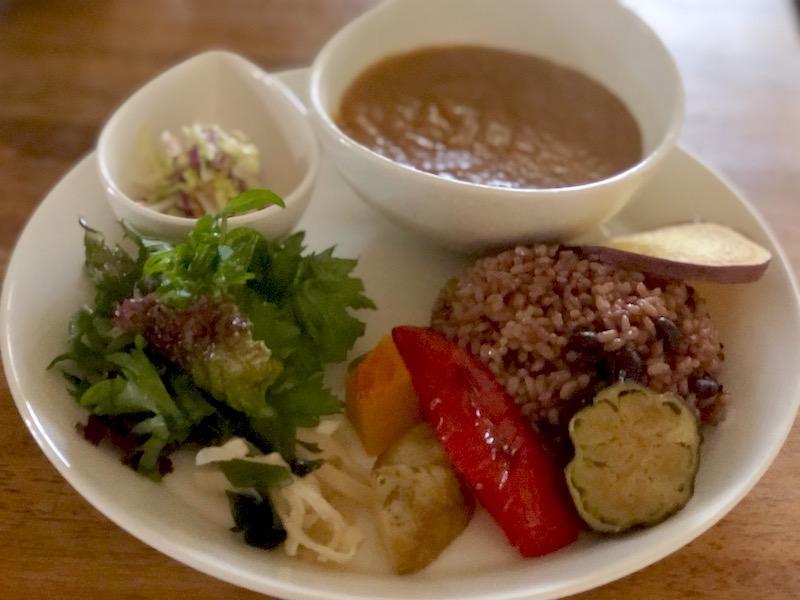 彩り野菜のベジタブルカレープレート